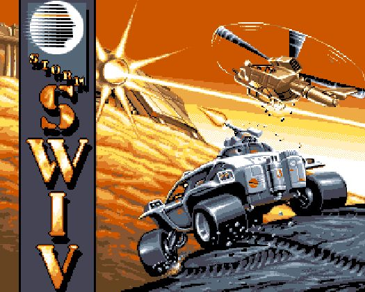 Was bedeutet SWIV? »Silkworm IV«? »Silkworm in Vertical«? »Superwurst im Vollrausch«? Nichts Genaues weiß man hier genauso nicht wie bei »MDK«. Zeit fressende Namensratereien beiseite geschoben bot SWIV 1991 mindestens eine geile Idee: Nämlich den Kooperativ-Modus, in dem der eine Zocker einen Helikopter, der andere einen Jeep bzw. ein Boot steuerte. Und der Rest war auch nicht übel! 1709010