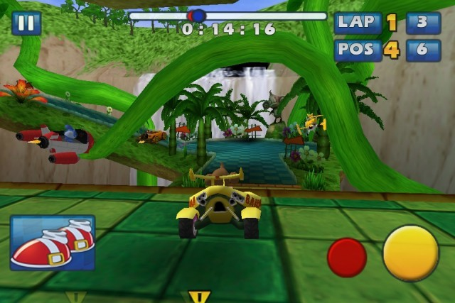 Screenshot - Sonic & Sega All-Stars Racing (iPhone) 2235178