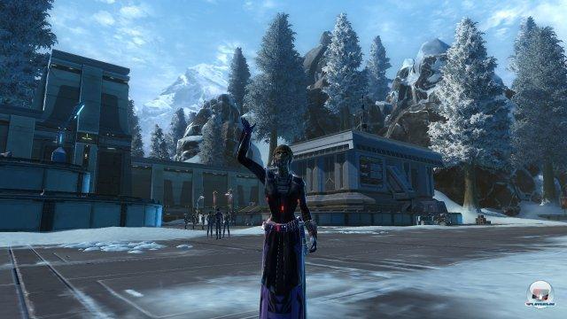 Uralubsgrüße von Alderaan: Auch ein böser Sith kann mal einen freundlichen Tag erwischen...