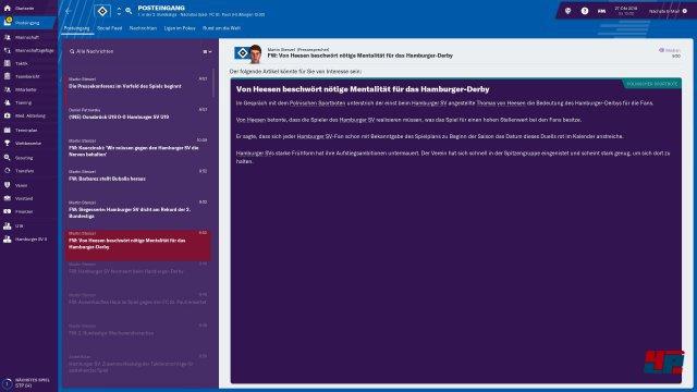 Screenshot - Football Manager 2019 (PC) 92577064