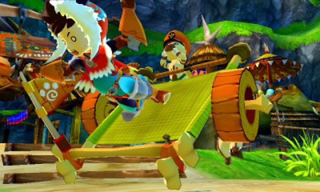 Screenshot - Monster Hunter Stories (3DS)