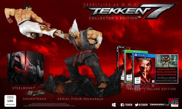 Sammler-Edition von Tekken 7
