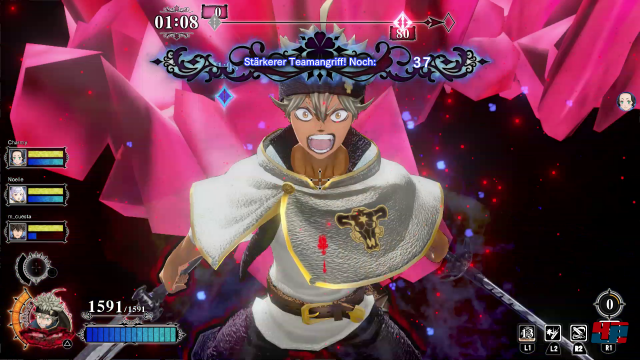 Screenshot - Black Clover: Quartet Knights (PS4)