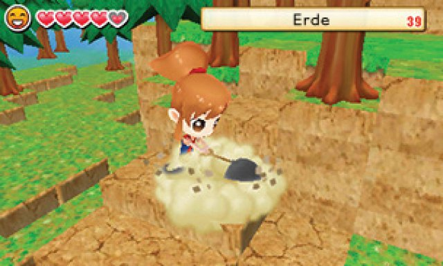 Screenshot - Harvest Moon: Das verlorene Tal (3DS)