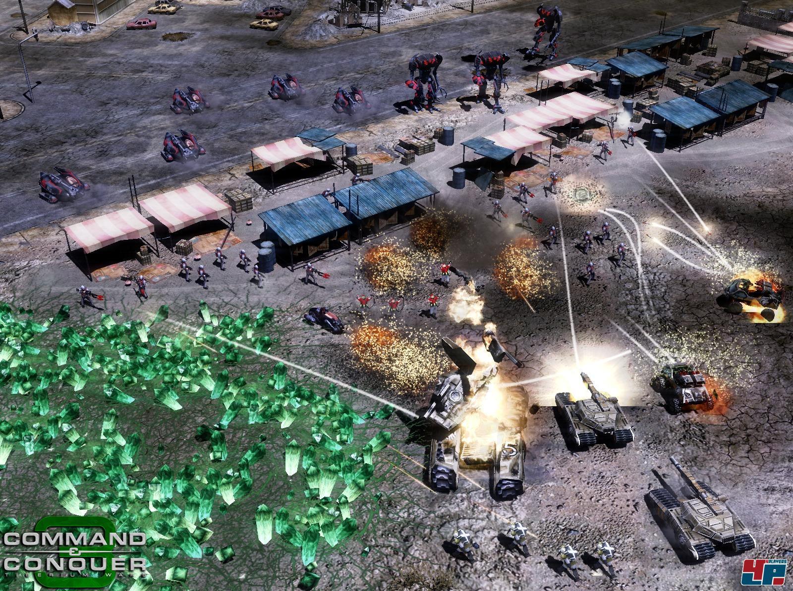Скачать патч к игре Command & Conquer 3 Tiberium Wars 1.05 бесплатно.