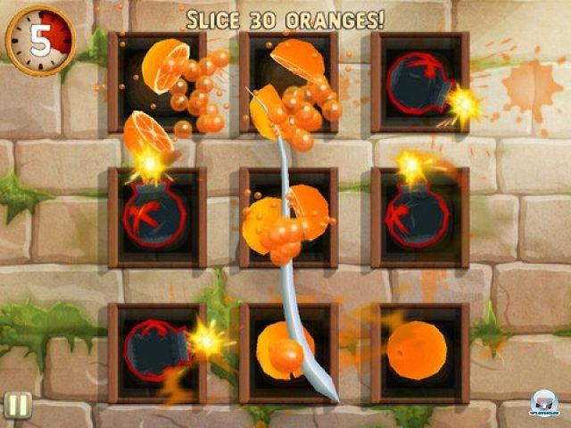 Screenshot - Fruit Ninja: Puss in Boots (iPad)