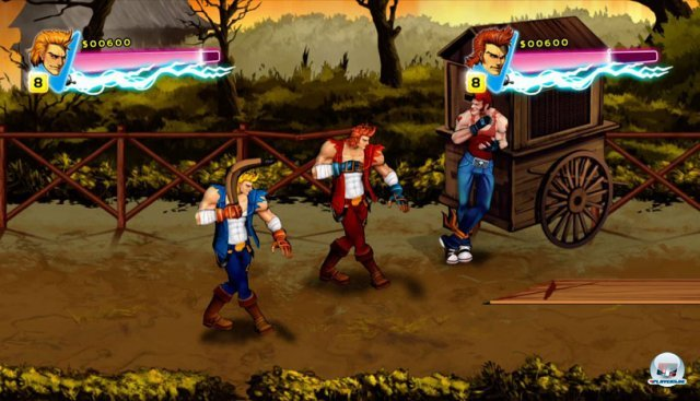 Screenshot - Double Dragon Neon (360)