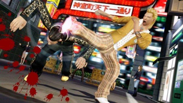 Screenshot - Yakuza: Black Panther 2 (PSP)