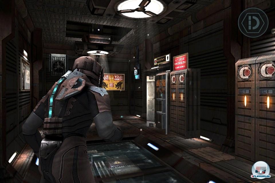 Technisch spielt Dead Space ganz vorne mit: Auf allen Plattformen gibt's glaubw�rdiges Leveldesign und tolle Animationen zu sehen, auf dem iPad 2 warten die besten Texturen und Anti-Aliasing.