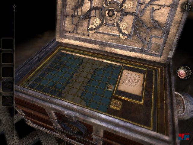 ...in ihm verbirgt sich diese Seekarte, welche einige versteckte Mechanismen offenbart.