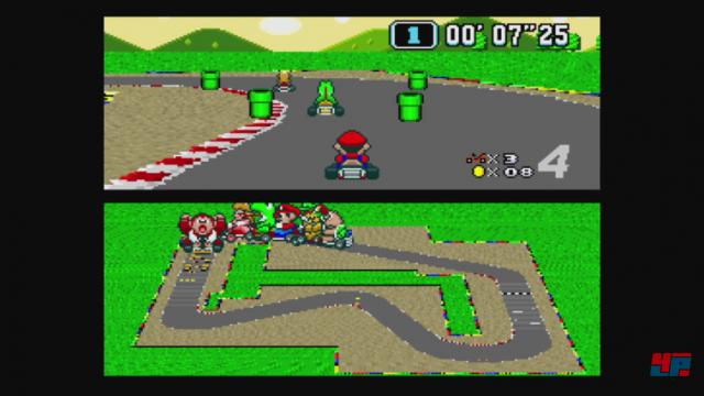 Screenshot - Super Mario Kart (Spielkultur)