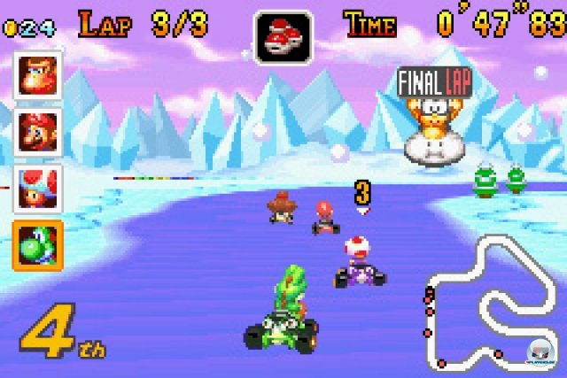 Screenshot - Mario Kart Super Circuit (GBA) 2370077