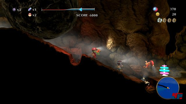 Screenshot - Spelunker Z (PlayStation4)