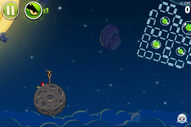 Screenshot - Angry Birds Space (iPhone) 2333642