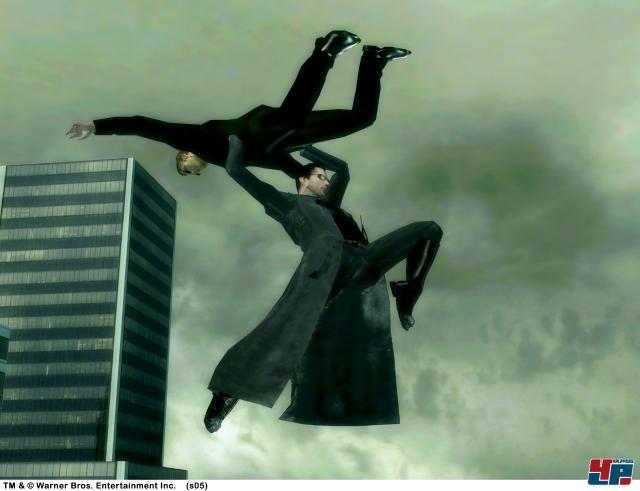 The Matrix Path Of Neo Screenshot.