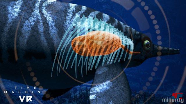 ...scannen. Mit allerlei technischen Gadgets untersucht man die Innereien der Meeressaurier, um dem Virus auf die Spur zu kommen.