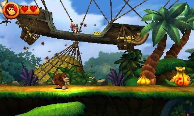Timing ist alles: Donky Kong muss sich ständig an Hindernissen und Feinden vorbei manövrieren.