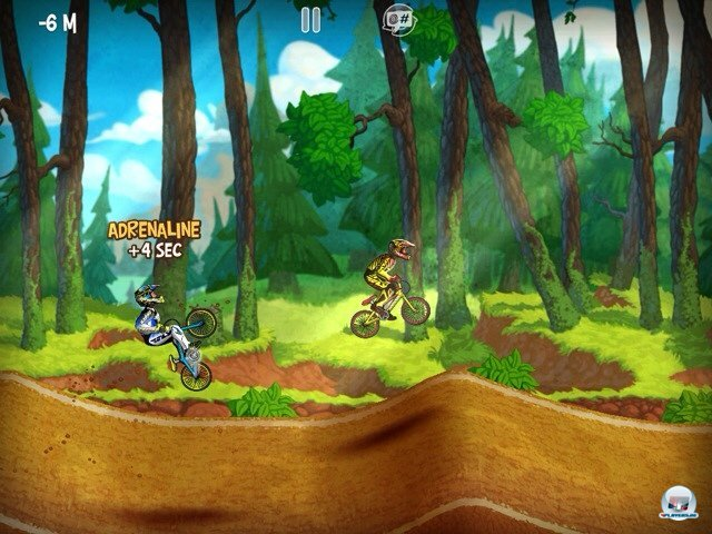 Screenshot - Mad Skills BMX (iPad)