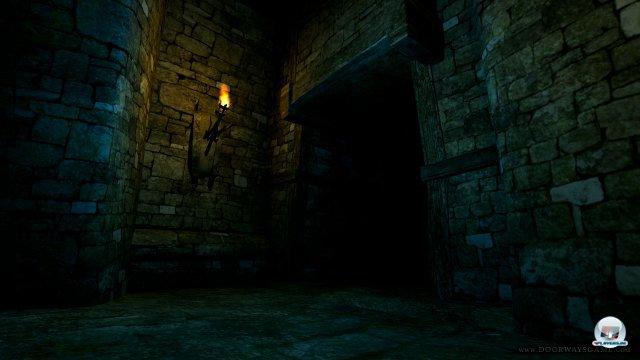 Einsamkeit und schummrige Beleuchtung, aber Angst empfindet man hier nicht.