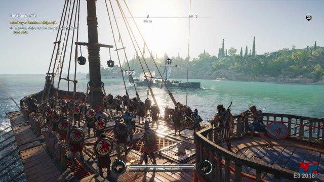 Inzwischen eine Konstante der Serie: Seegefechte kehren in Assassin