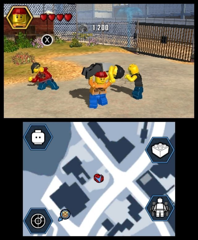 Screenshot - Lego City: Undercover (3DS) 92459487