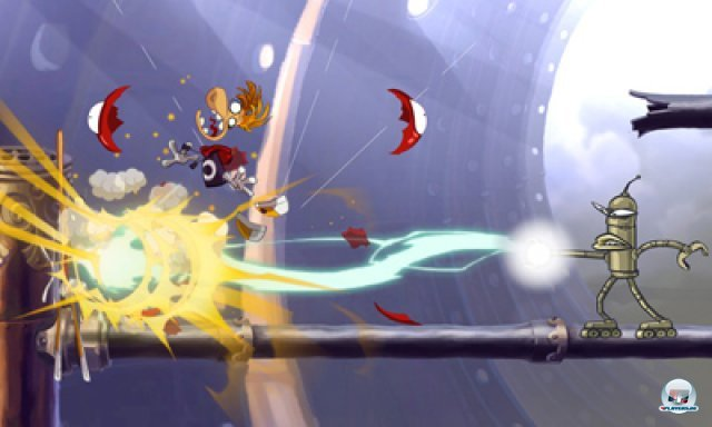 Screenshot - Rayman Origins (3DS) 2367122