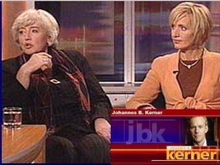...am selbigen 1. Dezember 2004 sprachen Frau Gerster und Frau Schmidt mit Vollblutjournalist Kerner über