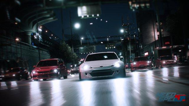 Wer will, kann mit Freunden als Crew die Straßen der fiktiven Metropole unsicher machen.