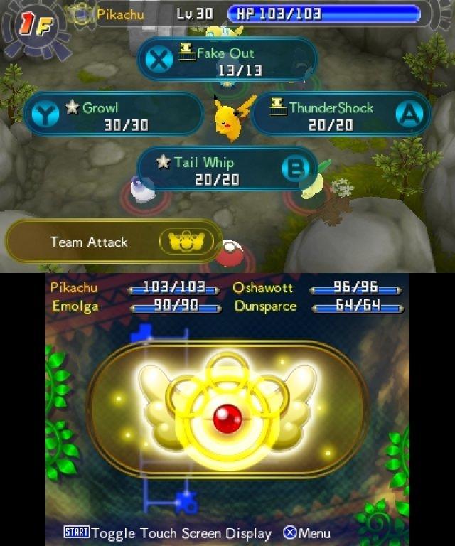 Screenshot - Pokémon Mystery Dungeon: Portale in die Unendlichkeit (3DS) 92457665