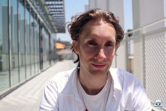 Sucht die Herausforderung: ehemaliger Student und inzwischen eine Kreativhoffnung für Sony, Ian Dallas.