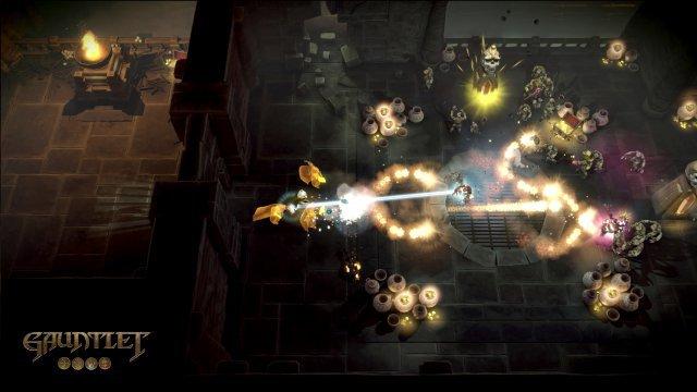Es stehen die vier Helden des Arcade-Originals zur Verfügung, die sich im Gegensatz zu früher erfeulich unterschiedlich spielen.