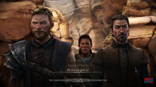 Screenshot - Game of Thrones - Episode 3: The Sword in the Darkness (iPad)