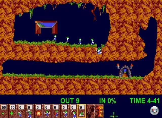 Screenshot - Lemmings (Oldie) (PC)