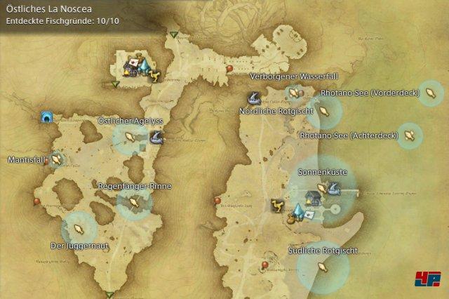 Final Fantasy XIV Online: A Realm Reborn - Fischgründe: La Noscea, Östliches La Noscea