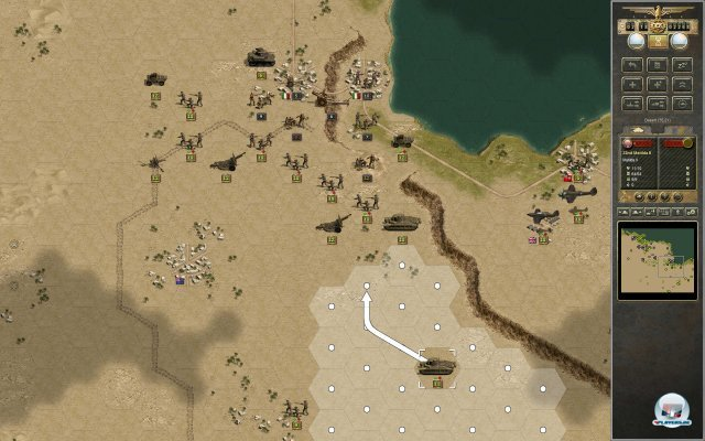 Screenshot - Panzer Corps: Afrika Korps (PC) 92422307