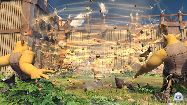 Trotz sympathischen Figurendesigns und schicker Partikeleffekte ist Knack kein Paradebeispiel für die PS4-Leistungsfähigkeit.