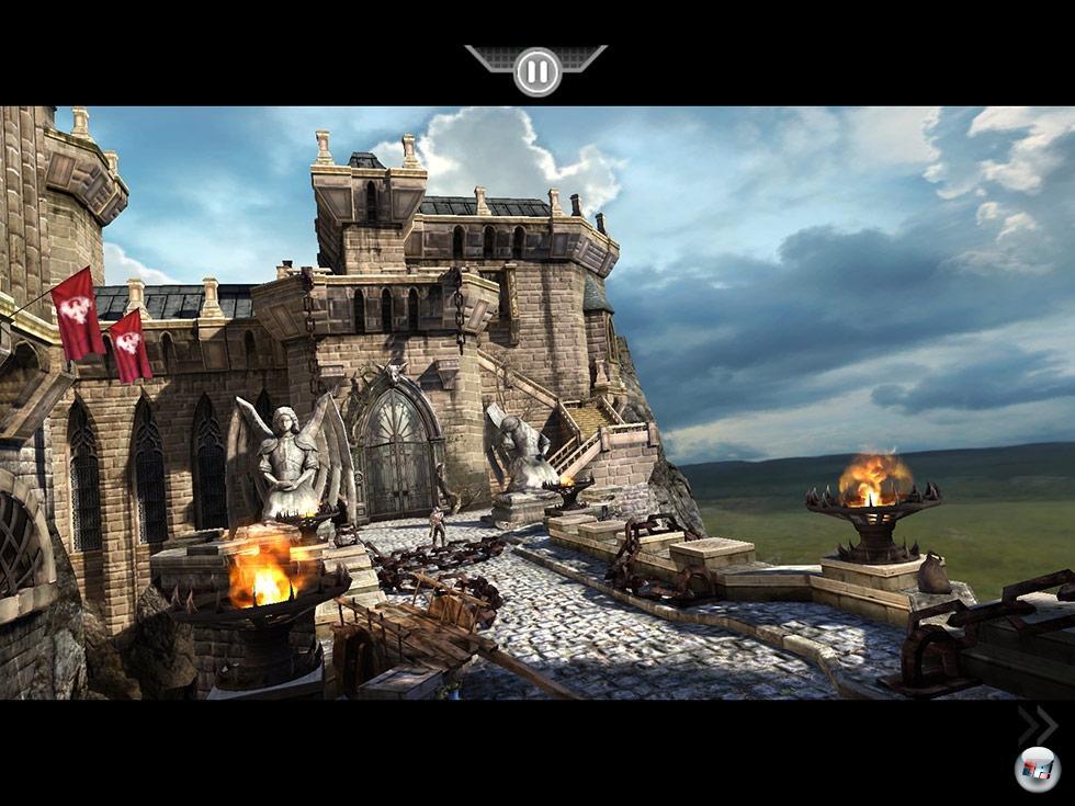 Grafisch gibt es auf den iPlattformen gegenwärtig keine Konkurrenz zu dem Spiel - die neue Unreal-Engine zaubert höchst beeindruckende Bilder auf die Touchscreens.