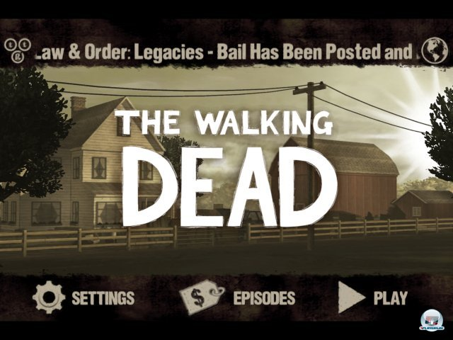 Screenshot - The Walking Dead (iPad)