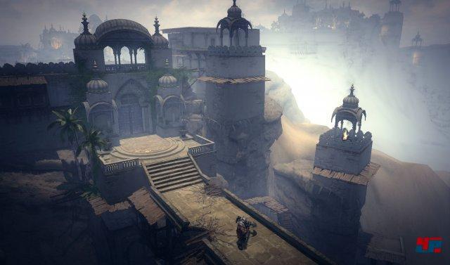 Düstere Gewölbe, stimmungsvolle Landschaften: Shadows versucht auch über die Kulisse für Atmosphäre zu sorgen.