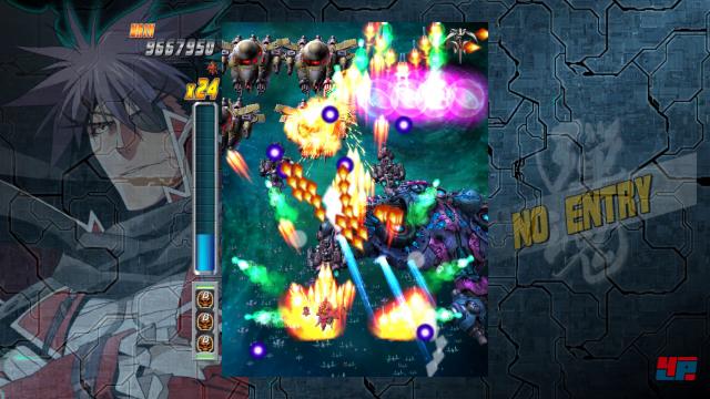 Auf den ersten Blick ist Bullet Soul ein gewöhnlicher Bullet-hell-Shooter.