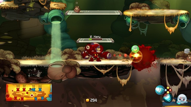 Screenshot - Awesomenauts (PlayStation3) 2244492