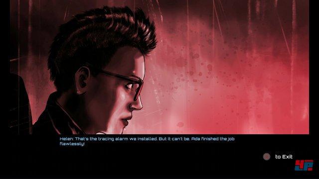 Zu den ungew�hnlichen Eigenschaften von Tachyon geh�rt die in Comic-Sequenzen erz�hlte Story.