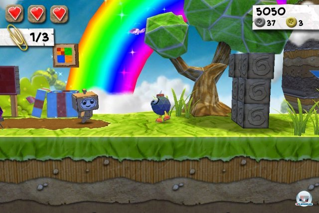 Screenshot - Paper Monsters (iPhone)