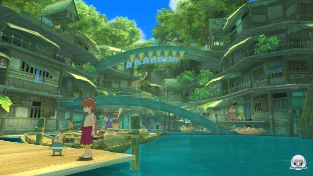 Screenshot - Ni No Kuni: Der Fluch der Weißen Königin (PlayStation3) 2376127