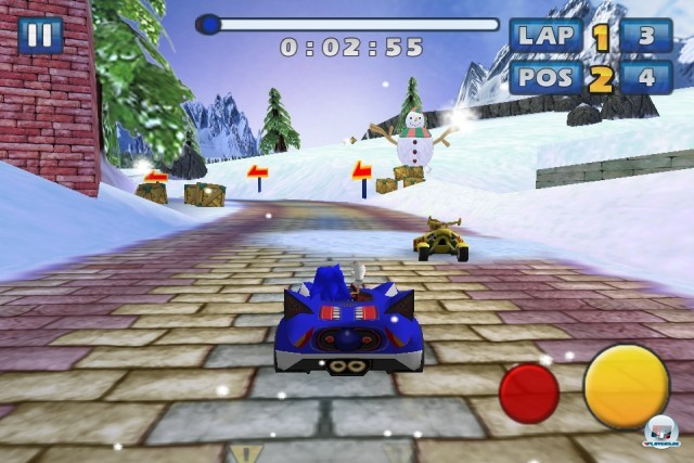 Screenshot - Sonic & Sega All-Stars Racing (iPhone) 2235179