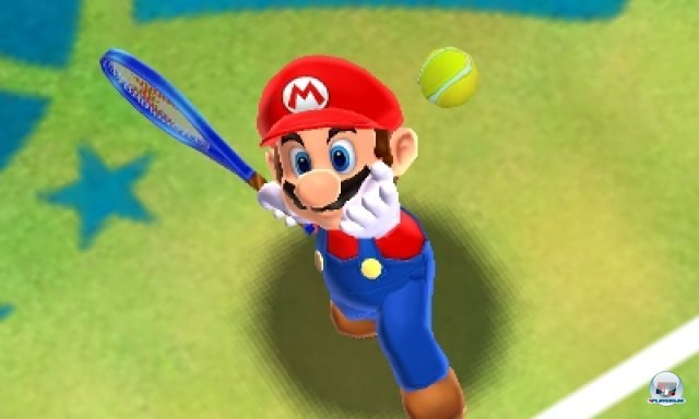 Screenshot - Mario Tennis 3D (3DS) 2266527