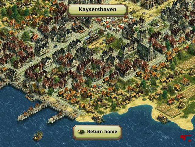 Screenshot - ANNO: Erschaffe ein Königreich (iPad)