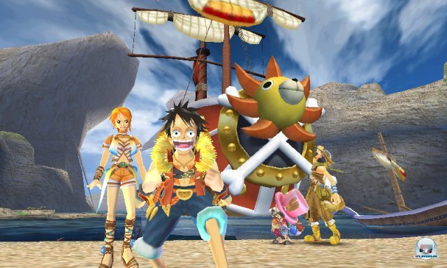 Screenshot - One Piece: Unlimited Cruise SP (3DS) 2259457