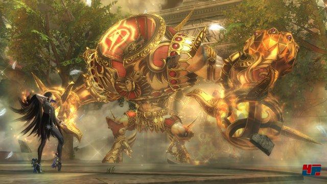 Beim Artdesign bietet Bayonetta 2 weniger Überraschungen als der Vorgänger.