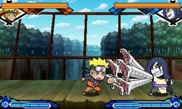Screenshot - Naruto: Powerful Shippuden (3DS)